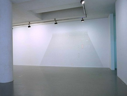 Richard Wright, Untitled, 2002 Gouache on wall, Dimensions variable