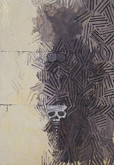Jasper Johns, Tantric Detail III, 1981 Oil on canvas, 50 × 34 inches (127 × 86.4 cm). Collection of the artist