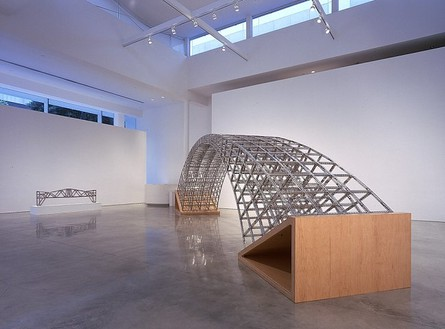 Chris Burden: Bridges and Bullets Installation view