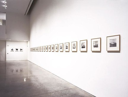 Ed Ruscha: Photographs Installation view, photo by Douglas M. Parker Studio
