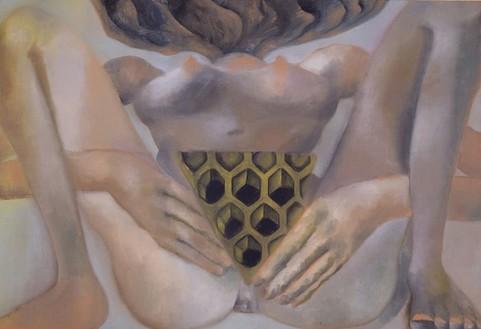 Francesco Clemente, Untitled, 2003 Oil on linen, 26 × 38 inches (66 × 96.5 cm)