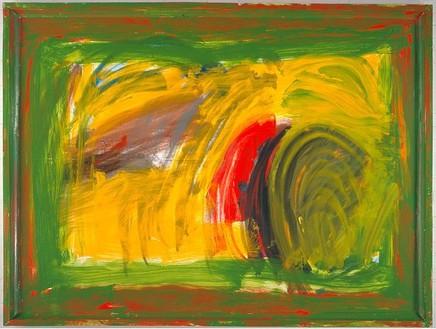 Howard Hodgkin, Memorial, 2003 Oil on wood, 74 ¾ × 99 inches (189.9 × 251.5 cm)
