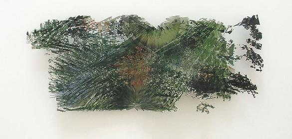 Jorge Pardo, Untitld, 2003 Inkjet on butcher paper, 27 × 68 inches (68.6 × 172.7 cm)