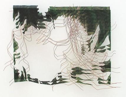 Jorge Pardo, Untitled, 2003 Inkjet on butcher paper, 28 × 42 inches (71.1 × 106.7 cm)