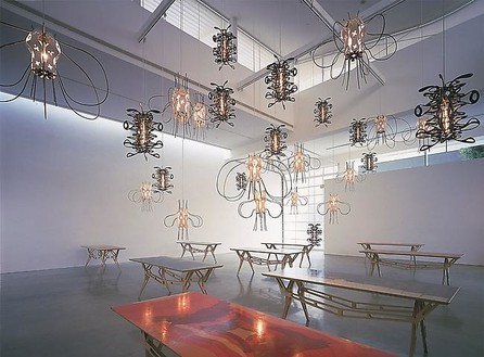Jorge Pardo Installation view, photo by Douglas M. Parker Studio