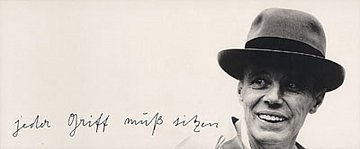 Joseph Beuys: Just hit the mark: Works from the Speck Collection, Heddon Street, London