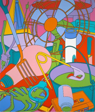 Michael Craig-Martin: Eye of the Storm, West 24th Street, New York