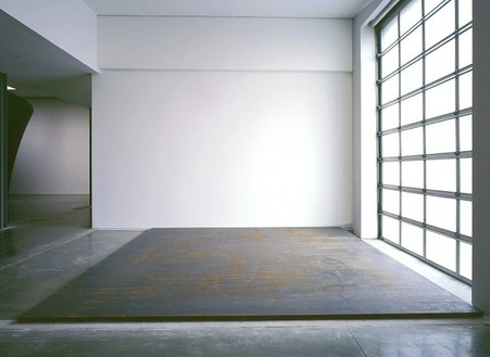 Richard Serra, Catwalk, 2003 Weatherproof Steel, 92 × 233 × 2 inches (2.3 × 5.9 × .05 m)© Richard Serra, photo by Rob McKeever