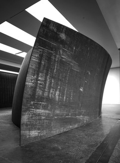 "Richard Serra, Blindspot, 2003 (view 2) Weatherproof Steel, 14' × 60' × 29' 6"" (4.2 × 18.3 × 90 m)© Richard Serra, photo by Rob McKeever"
