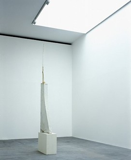 Cy Twombly: Ten Paintings and a Sculpture Installation view