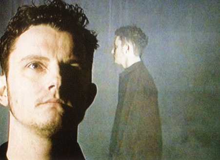 Douglas Gordon, Fog, 2001–02 (still) Silent double DVD projection onto single translucent screen, Dimensions variable, edition of 3