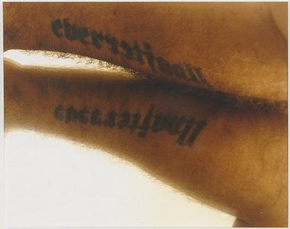 Douglas Gordon, Everafterallland, 2004 C-print, Image: 6 ½ × 8 inches (16.5 × 20.3 cm), edition of 13