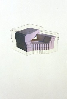 Rachel Whiteread, Drawing for Drawing Show, 2004 Collage, acrylic medium and graphite on paper, 22 × 15 inches (56 × 38 cm)
