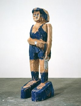 Georg Baselitz: Recent Sculptures, West 24th Street, New York