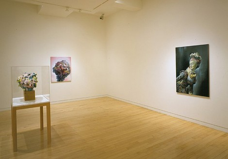 Glenn Brown Installation view