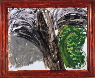 Howard Hodgkin, Undergrowth, 1998–2003 Oil on wood, 78 ¾ × 95 ⅝ inches (200 × 242.9 cm)
