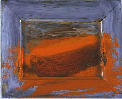 Howard Hodgkin, Little Venice, 2003 Oil on wood, 10 ½ × 13 inches (26.7 × 33 cm)