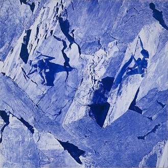 Mark Tansey, Duet, 2004 Oil on canvas, 84 × 84 inches (213.4 × 213.4 cm)