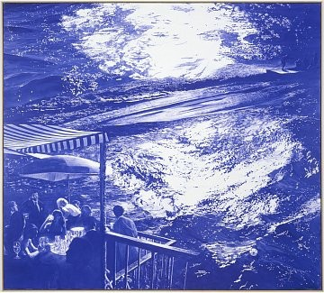 Mark Tansey, West 24th Street, New York