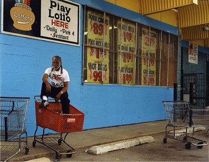 Taryn Simon, Ronald Jones; Scene of arrest, South Side, Chicago, Illinois; Served 8 years of a Death sentence for Rape and Murder, from the series The Innocents, 2002 Chromogenic print, 31 × 40 inches (78.7 × 101.6 cm) or 48 × 62 inches (121.9 × 157.5 cm), both edition of 5 + 2 AP© Taryn Simon