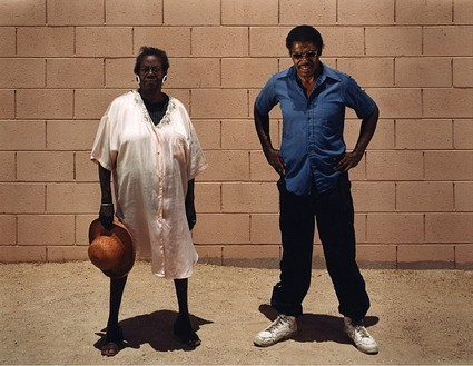 Taryn Simon, Larry Youngblood; Alibi location, Tucson, Arizona; With Alice Laitner,Youngblood's girlfriend and alibi witness at trial; Served 8 years of a 10.5-year sentence for Kidnapping, Sexual Assault, and Child Molestation, from the series The Innocents, 2002 Chromogenic print, 31 × 40 inches (78.7 × 101.6 cm) or 48 × 62 inches (121.9 × 157.5 cm), both edition of 5 + 2 AP© Taryn Simon