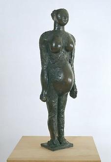Pablo Picasso, La Femme Enciente, 1950 Bronze, 41 ¼ × 7 ⅝ × 6 ¼ inches (104.8 × 19.4 × 15.9 cm), edition of 6