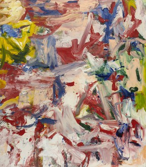 Willem de Kooning, Untitled XIX, 1977 Oil on canvas, 80 × 70 inches (203.2 × 177.8 cm), Museum of Modern Art, New York© The Willem de Kooning Foundation/Artists Rights Society (ARS), New York