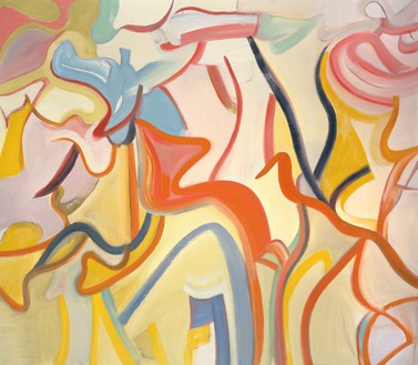 Willem de Kooning, [no title], 1988 Oil on canvas, 70 × 80 inches (177.8 × 203.2 cm)© The Willem de Kooning Foundation/Artists Rights Society (ARS), New York