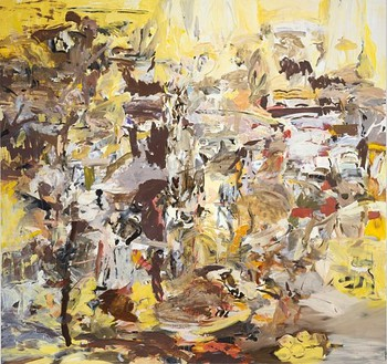 Cecily Brown, Tripe with Lemons, 2004 Oil on linen, 97 × 103 inches (246.4 × 261.6 cm)