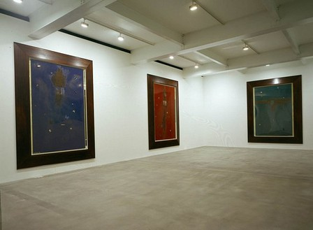 Damien Hirst: The Bilotti Paintings Installation view