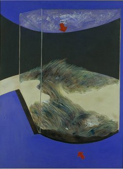 Francis Bacon, Landscape, 1978 Oil and pastel on canvas, 78 × 58 ⅛ inches (198 × 147.5 cm)