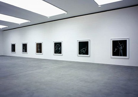 Hiroshi Sugimoto: Conceptual Forms Gallery installation view