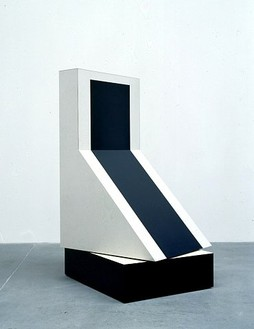 Richard Artschwager, Swivel, 1964 Formica on wood, 53 ⅜ × 25 ½ × 30 ¾ inches (135.6 × 64.8 × 78.1 cm)