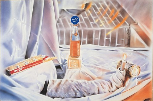 Martin Kippenberger, Untitled, 1981 Acrylic on canvas, 78 ¾ × 118 inches (200 × 300 cm)