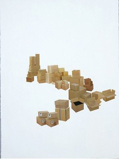 Rachel Whiteread, Untitled, 2004 Pencil and collage on paper, 22 ¼ × 30 inches (56.5 × 76 cm)