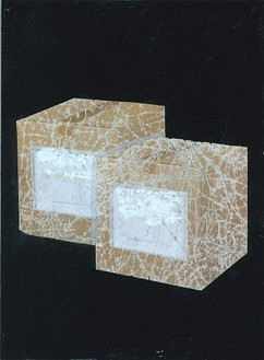 Rachel Whiteread, Untitled, 2004 Gouache and collage on paper, 6 × 4 inches (15.3 × 10.4 cm)
