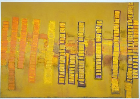 Richard Prince, Untitled (check painting) #12, 2004 Acrylic on canvas, 108 × 156 inches (274.3 × 396.2 cm)© Richard Prince