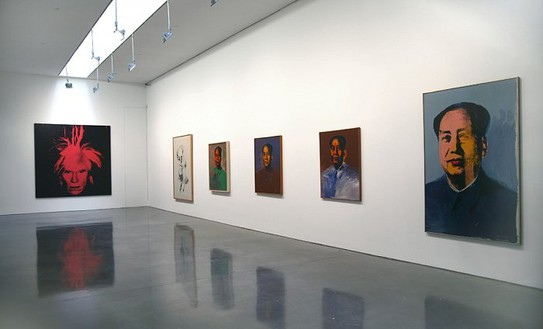 Installation view Artworks © 2006 Andy Warhol Foundation for the Visual Arts/ARS, New York