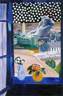Dexter Dalwood, A View from a Window, 2006 Oil on canvas, 65 × 43 inches (165 × 109 cm)