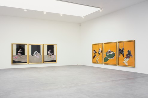 Installation view Artwork © The Estate of Francis Bacon 2006