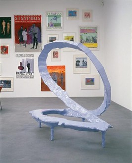 Franz West: Displacement and Condensation Installation view