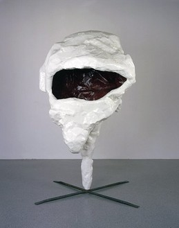 Franz West, Lemur, 2005 Polyester, steel, 94 ½ × 59 × 59 inches (240 × 150 × 150 cm)