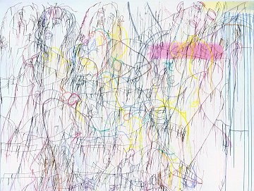 Ghada Amer: Breathe Into Me, West 24th Street, New York