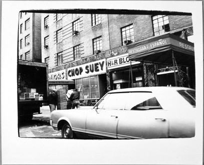 Andy Warhol, Store Fronts, Chop Suey, 1980 Gelatin silver print, 8 × 10 inches (20.3 × 25.4 cm)