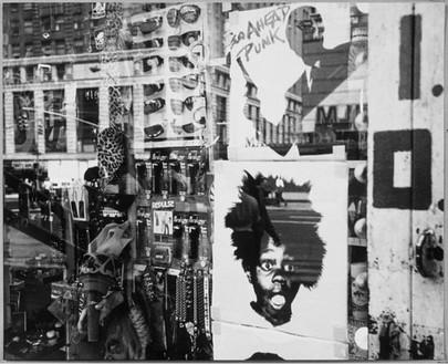 Andy Warhol, Window Display, Buckwheat, 1986 Gelatin silver print, 8 × 10 inches (20.3 × 25.4 cm)