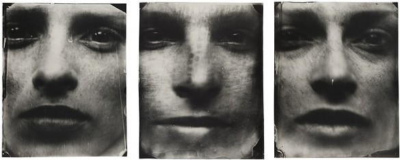 Sally Mann, Triptych, 2004 Silver print with varnish, 3 panels: 50 × 40 inches each, 50 × 120 inches overall, edition of 8