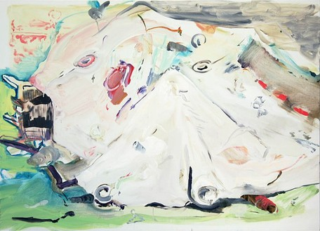 Cecily Brown, Duplicate Blunder, 2006 Oil on linen, 31 × 43 inches (78.7 × 109.2 cm)