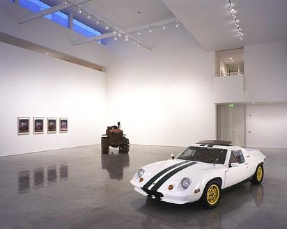 Chris Burden: Yin Yang Installation viewPhoto © Douglas M. Parker Studio