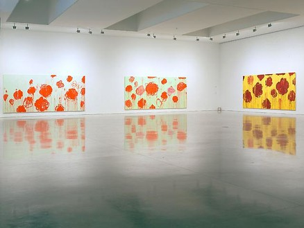Cy Twombly: Blooming: A Scattering of Blossoms and Other Things Installation view, photo by Rob McKeever