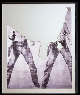 Douglas Gordon, Self-Portrait of You + Me (Elvis), 2007 Smoke and Mirror, 54 ¾ × 39 X 3 inches (139.1 × 99.1 × 7.6cm)